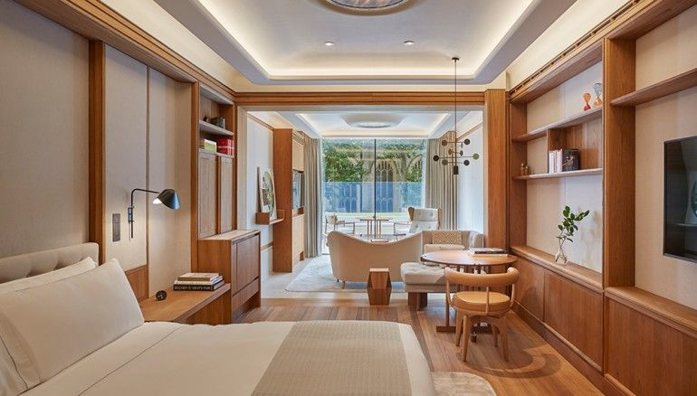 Grand Terrace Suite, the Berkeley 10 European Suites Bringing New