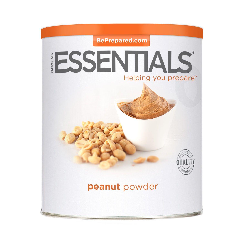 Emergency essentials peanut powder large can peanut