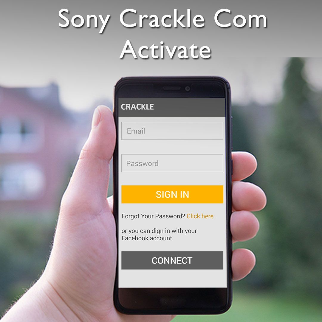 Sony Crackle com activation Activated,