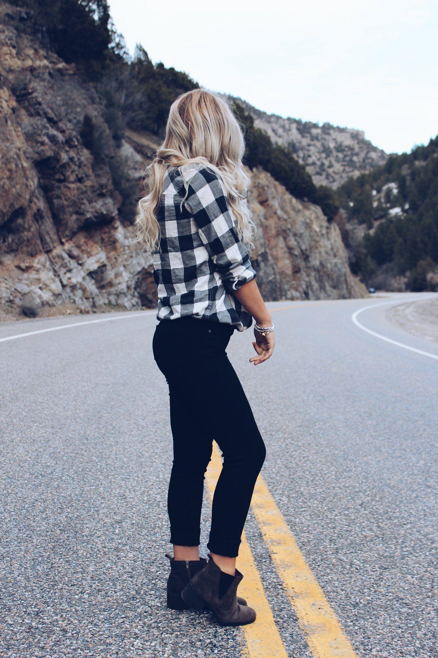 Flannel fashion makeup  Wrap Bracelet   The Best Fashion Pins  Pinterest  Jeans