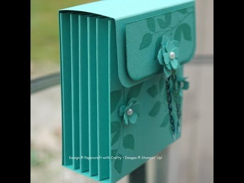 Tea Caddy Concertina Box