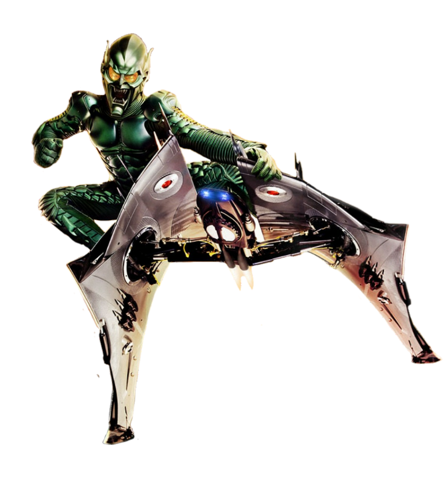 Spider Man 2002 Green Goblin Png By Metropolis Hero1125 Green Goblin Spider Man Trilogy Evil Pictures