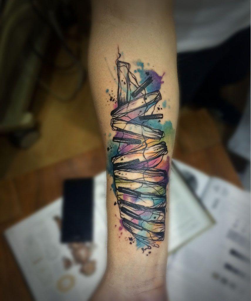 16++ Amazing Music note tattoo sleeve ideas