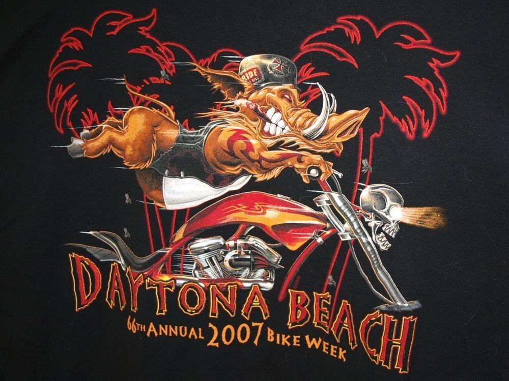 2007 beach bike daytona week