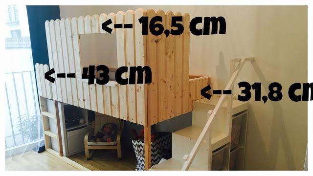 IKEA HACK KURA Kinder zimmer, Betten für kinder, Zimmer