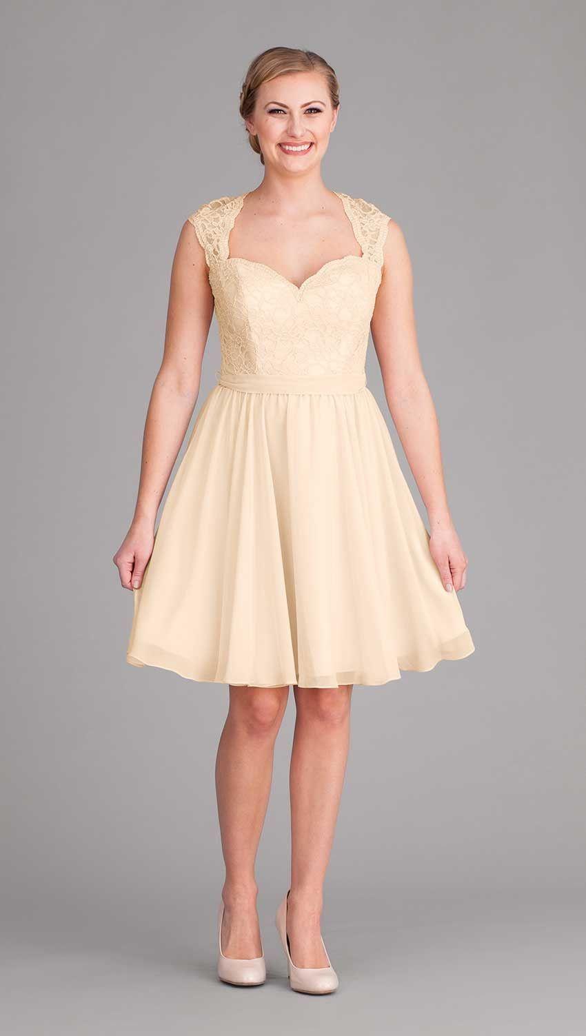 Marissa chiffon bridesmaid dresses chiffon fabric and lace bodice