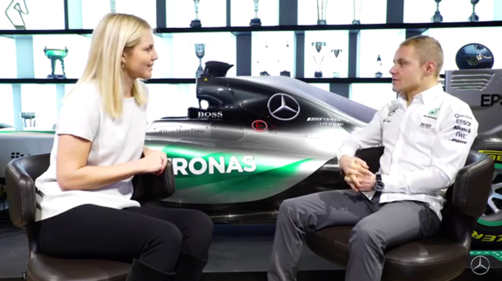 Interview With Mercedes AMG Petronas F1 Driver Valtteri Bottas (VIDEO)