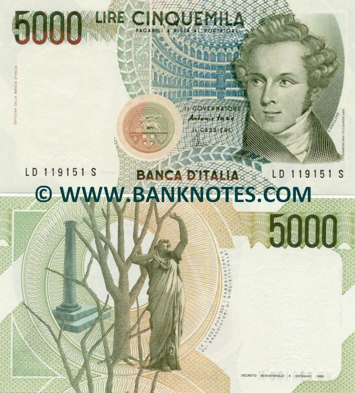 Italian Currency Con Imágenes Papel