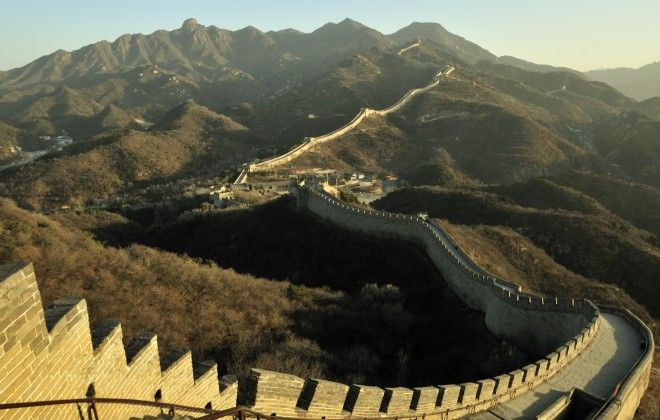 Prepare to be blown away if you visit the 4800 kilometre-long Great Wall. #Travel #China #GreatWall