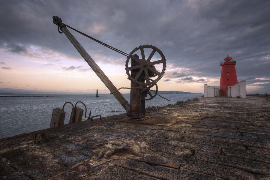 South Bull Wall | Dublin Port by Mark Desmond, via 500px