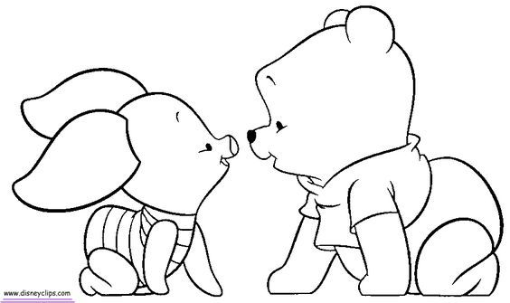 Malvorlagen Winnie Pooh Baby 08 Baby Coloring Pages Bear