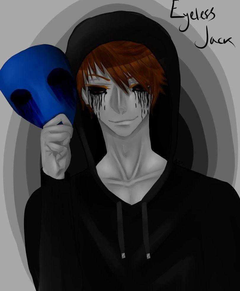 10 ideias de Eyeless Jack | creepypasta, jack sem olhos