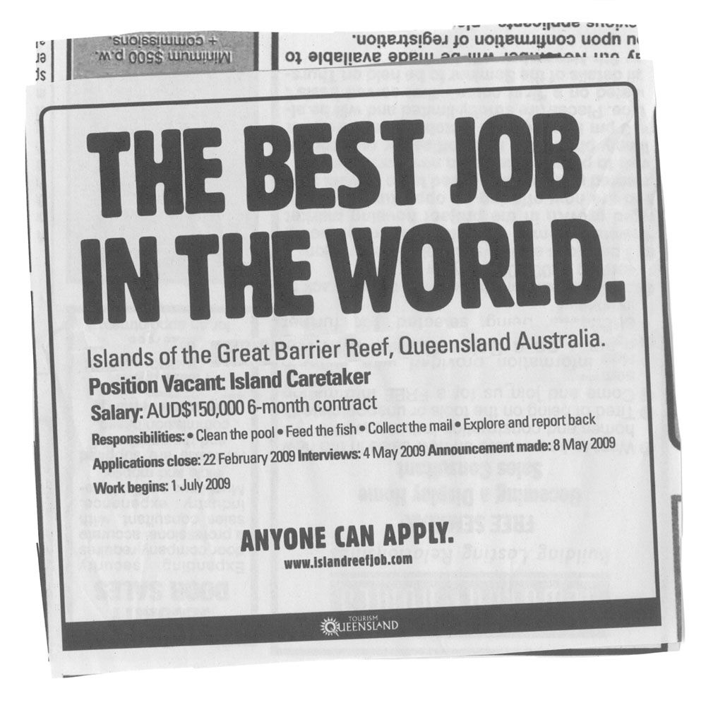 A Good Job Will Do!
