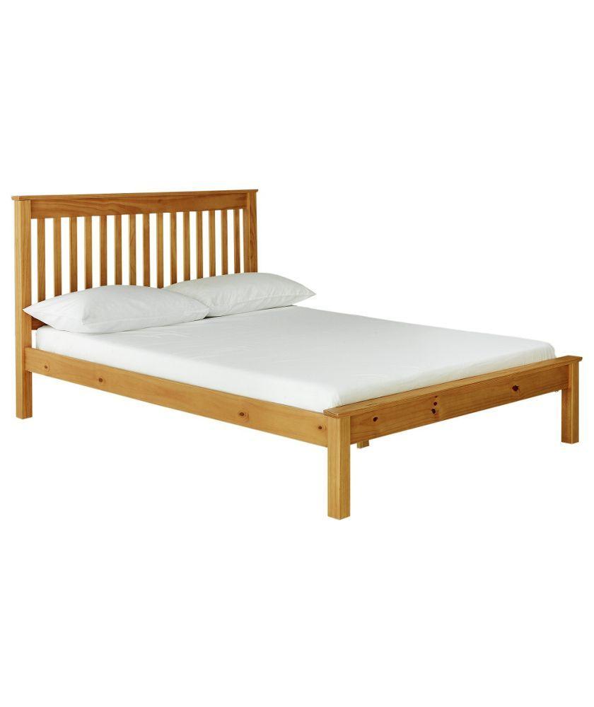 Buy Aspley Double Bed Frame Oak Stain At Argos Co Uk