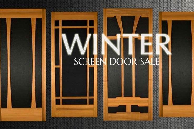 Cedar Screen Doors Mountain View Woodworks Sandpoint Id