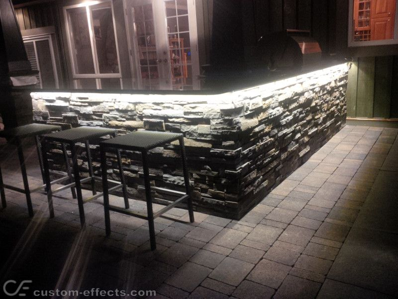 Custom Effects Led Solutions Outdoor Kitchen Led Lighting Kitchen Led Lighting Led Lights Lighting