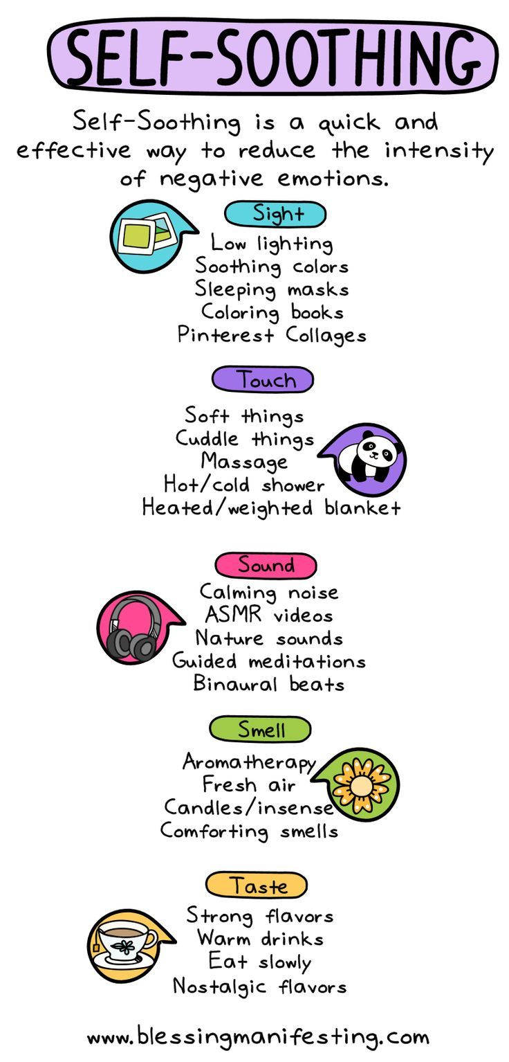Distress Tolerance: Self-Soothing - Blessing Manifesting