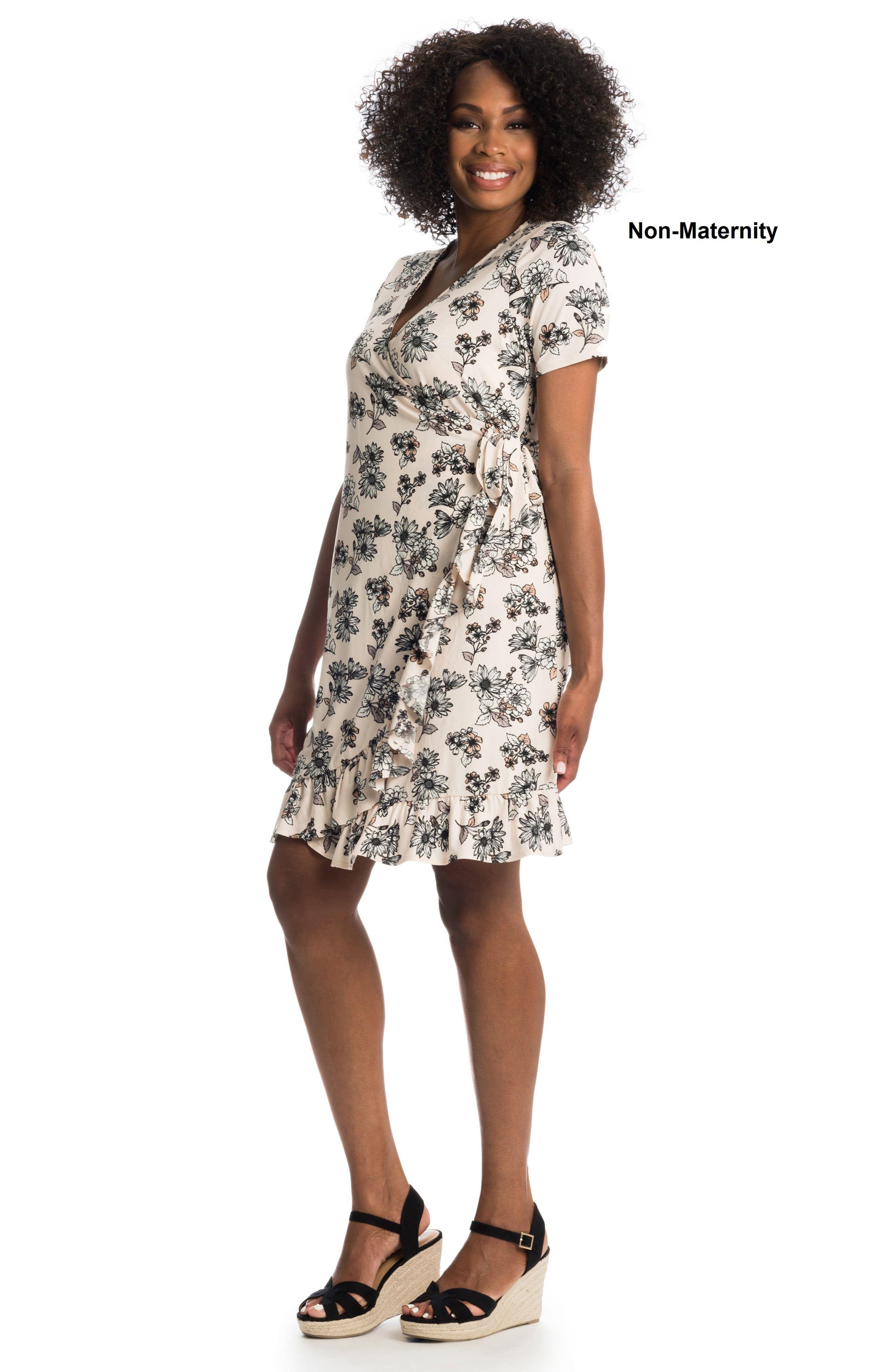 Everly Grey Araceli Maternity Nursing Wrap Dress Nordstrom In 2021 Wrap Dress Everly Grey Jersey Wrap Dress [ 4048 x 2640 Pixel ]