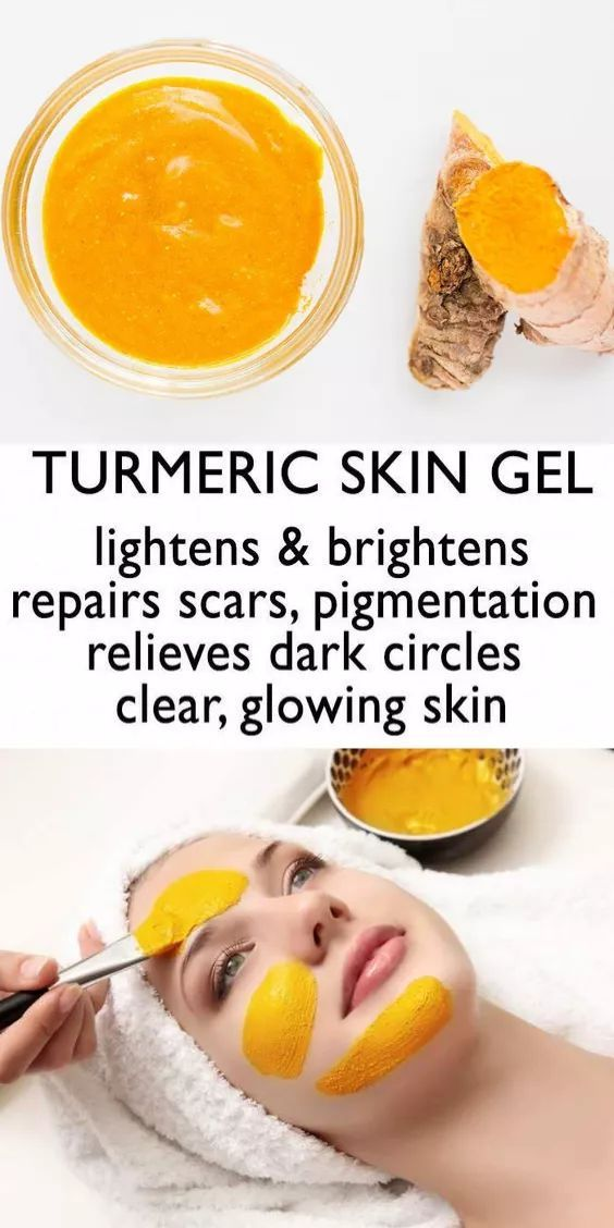 DIY Turmeric Cream For Clear And Beautiful Skin | Turmeric ...