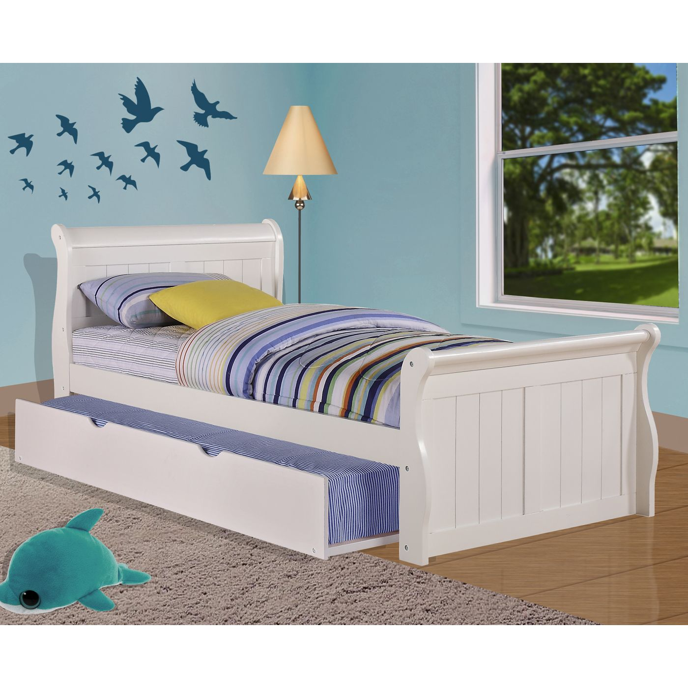 Shop Pivot Direct PD_325 Donco Kids Sleigh Bed with