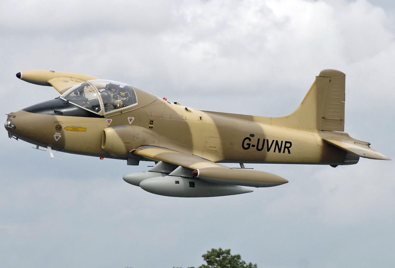 Aviones Caza y de Ataque: BAC Strikemaster Tipo Avión de ataque ...