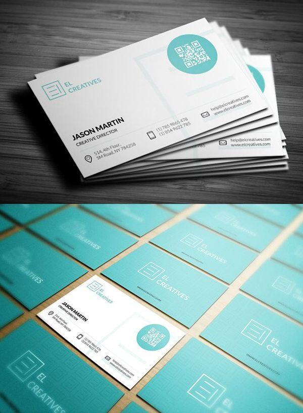 25 New Professional Business Card Templates Print Ready Design Design Graphic Design Junction Business Card Design Blue Business Card Name Card Design