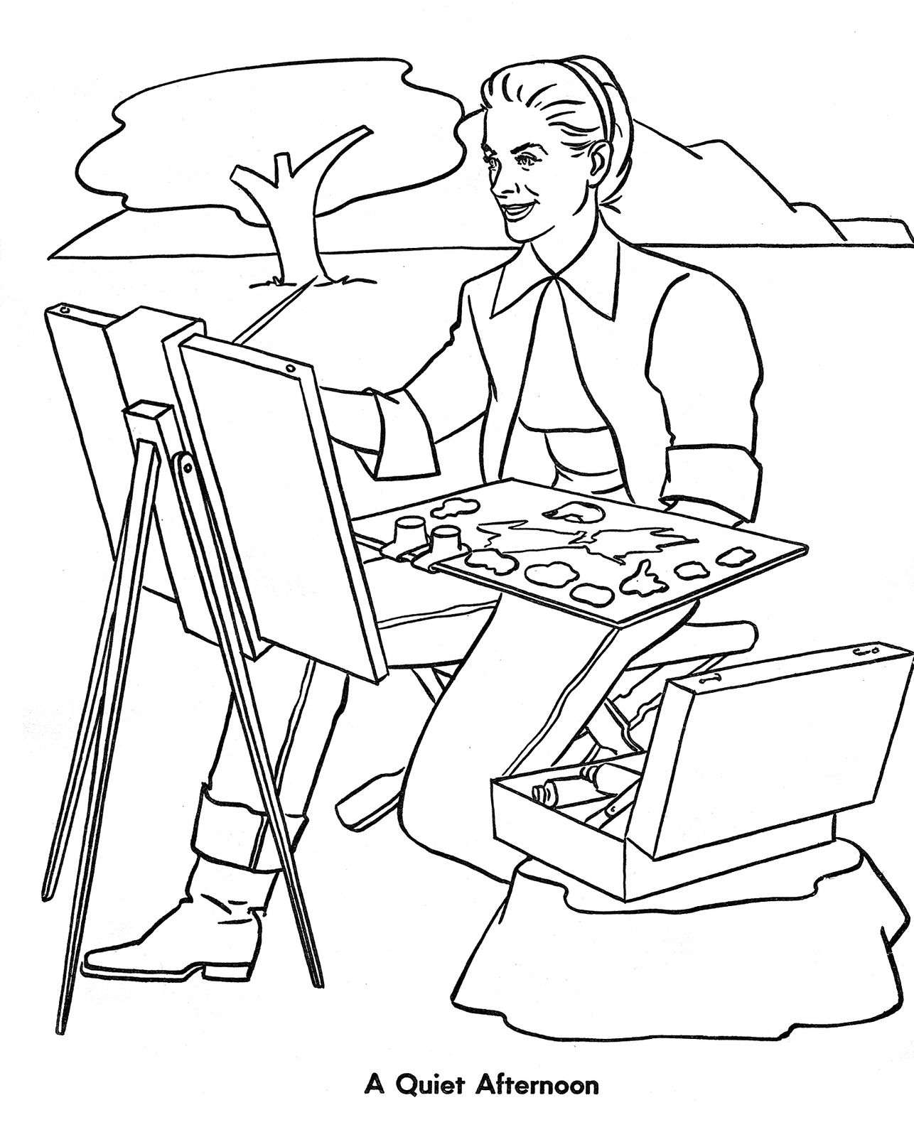 Grace Kelly Coloring Book Page 9 Coloring Books Coloring Pages Color