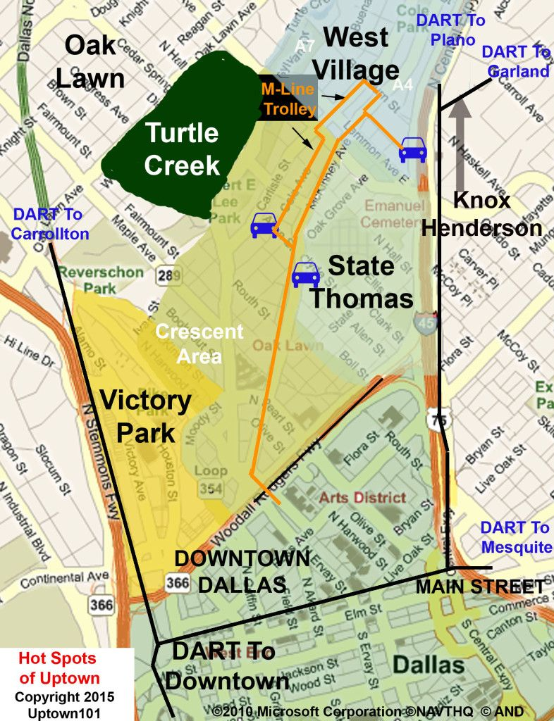 map of uptown dallas Pin By Uptown Dallas Apartments Thi On Uptown Dallas map of uptown dallas