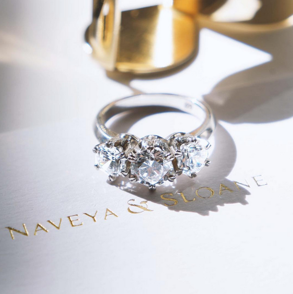 Engagement Rings Auckland: The Asellus Setting. Naveya & Sloane Engagement Ring, Made