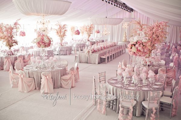 Pink And Silver Wedding Ideas Bridebug