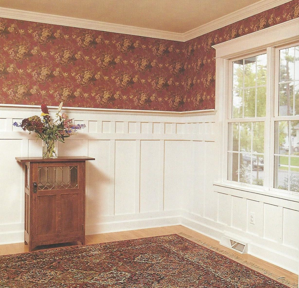 Wainscot solutions inc custom assembled wainscoting - Love The Mission Wainscoting