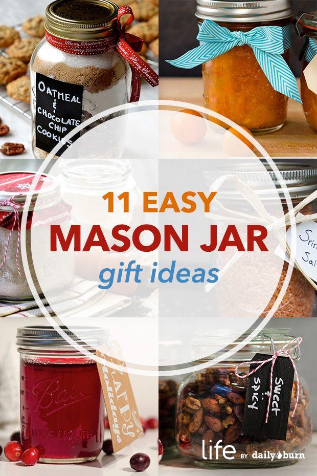 DIY Mason Jar Gifts to Make Right