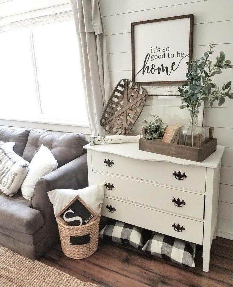 Cool Farmhouse Living Room Decor Ideas 20 Farmhouse living room - menards halloween decorations