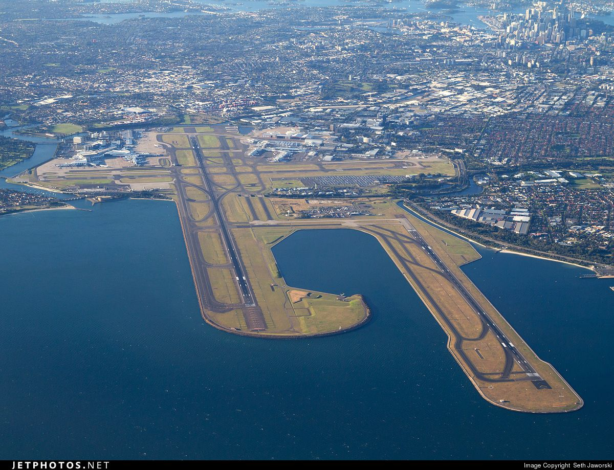 Photo: YSSY Airport Overview Airport by Seth Jaworski