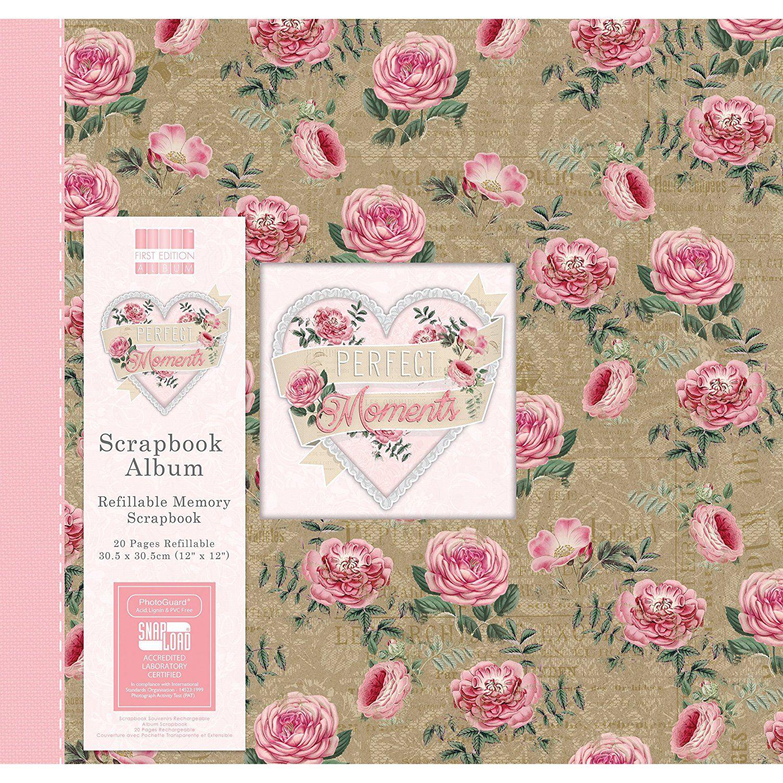 First edition multicolour 12x12 scrapbook album amazon