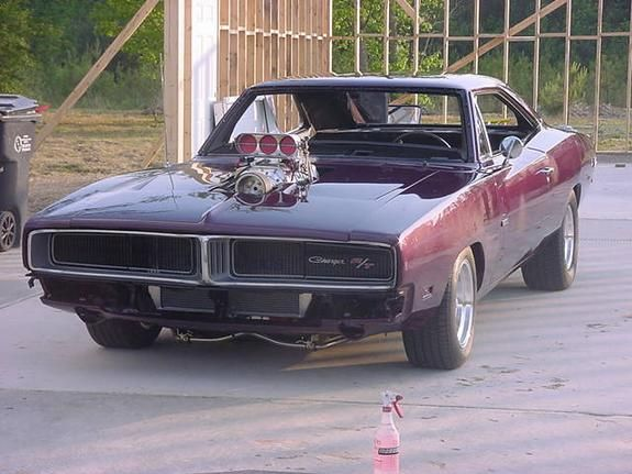 69 dodge charger фото