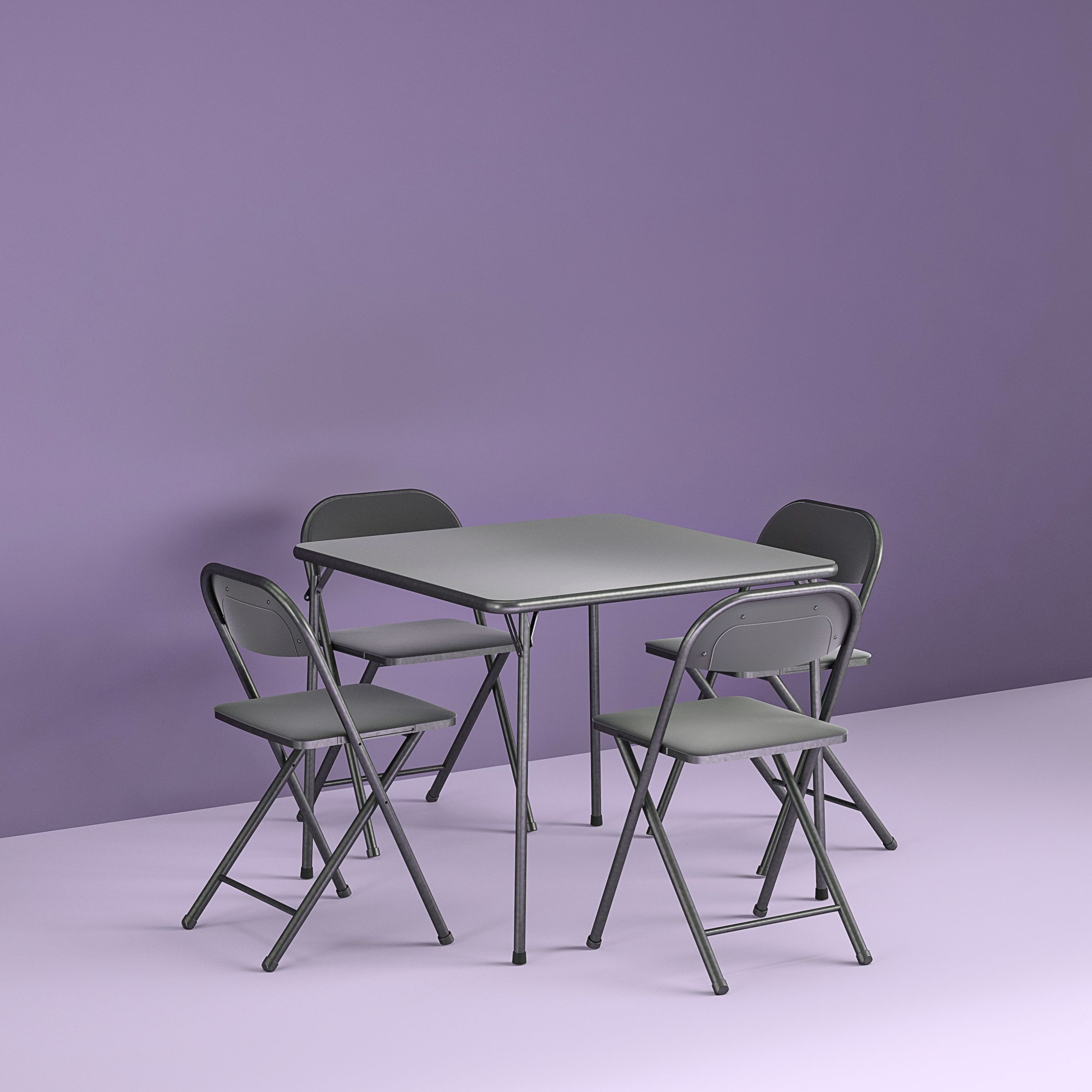 Home Card Table Set Card Table And Chairs Breakfast Table Setting