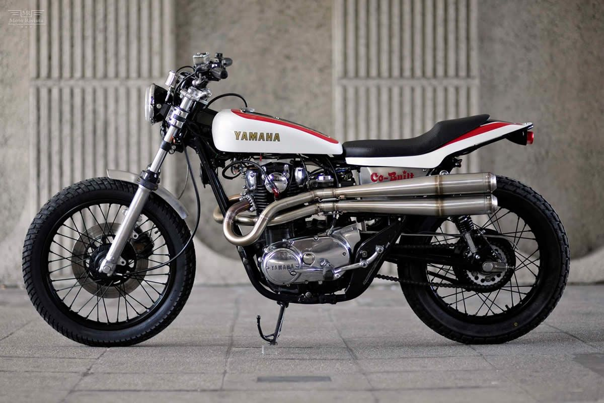 Yamaha XS650 Street Tracker by Red Max Speed Shop via Moto