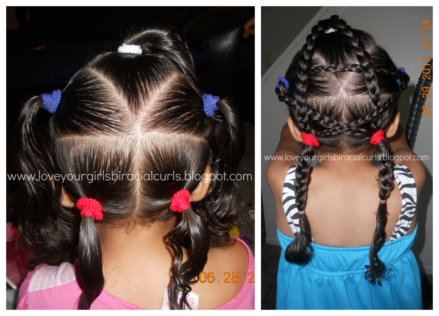 4th Of July Hairstyle Hair Styles Toddler Hairstyles Girl Toddler Hair