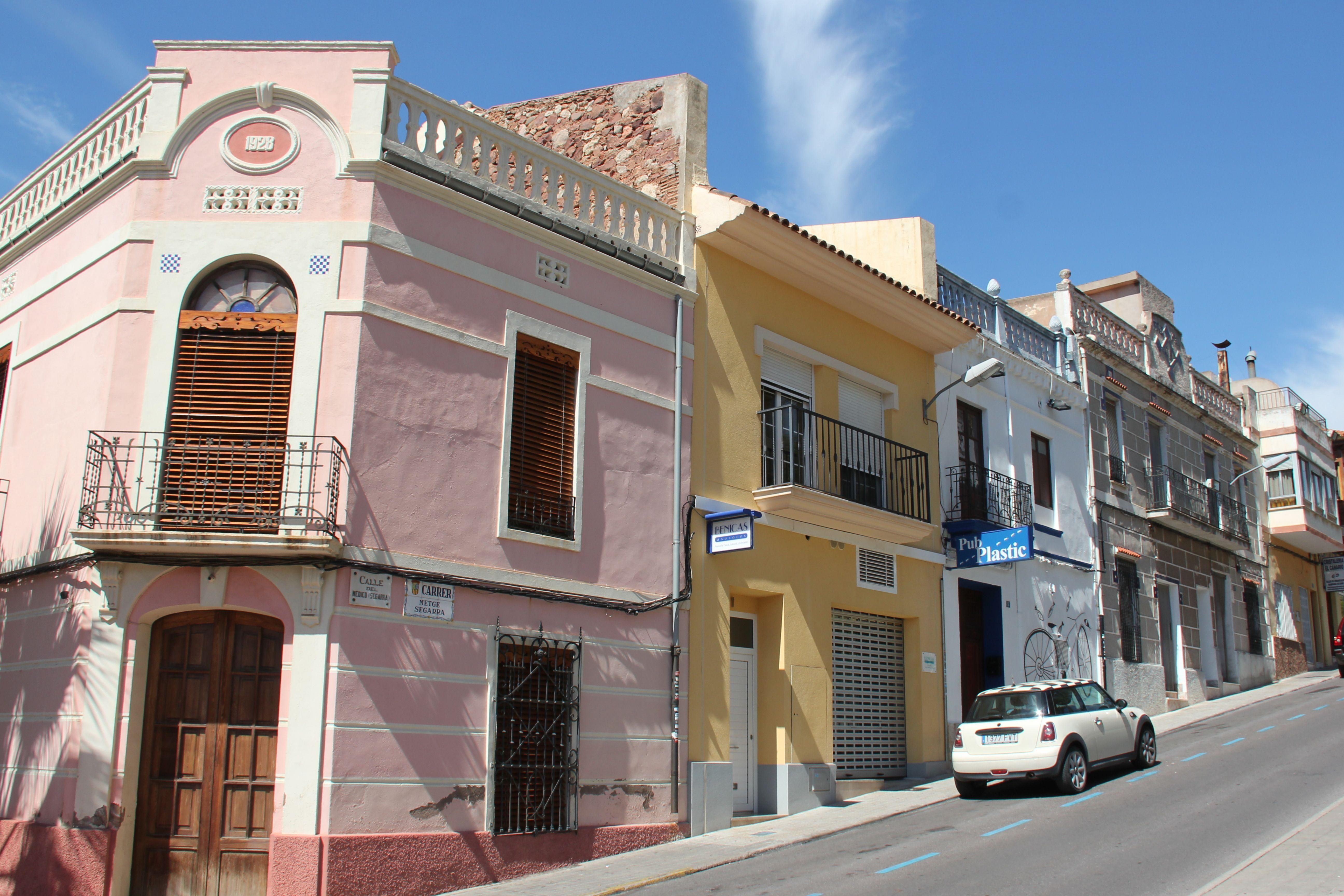Casas en el centro histórico de Benicàssim