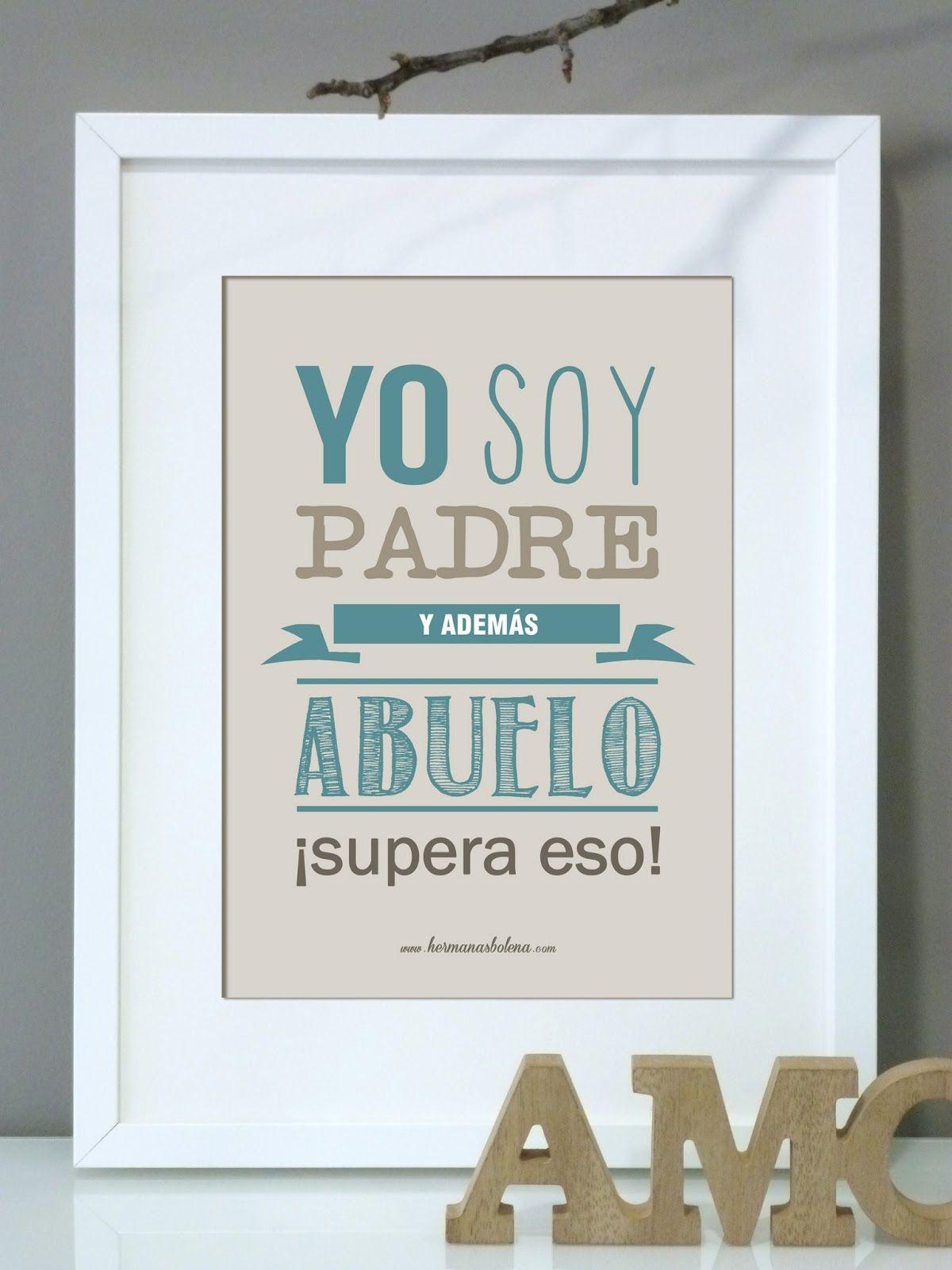regalo+día+del+padre+lámina+personalizada+ABUELO+marco+IKEA.jpg ...