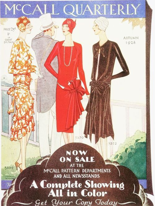 McCall Ad 1920s Vintage Ad Browser | 1920s Fashion | Pinterest