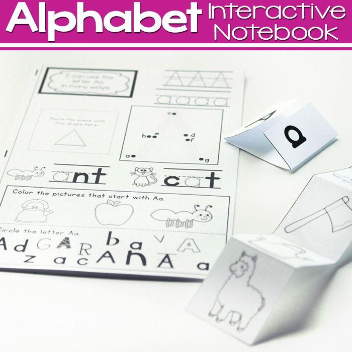 Alphabet Interactive MiniNotebooks  Motor Skills