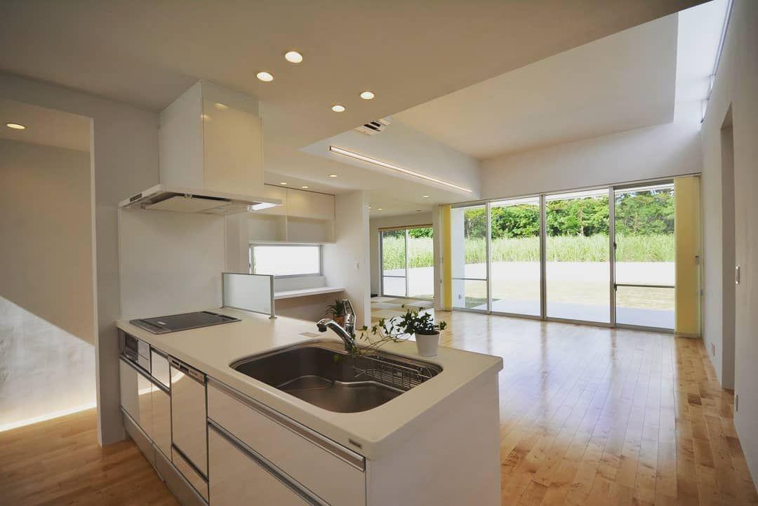 クレールアーキラボ Clairarchilab 沖縄 設計 建築 建物 住宅 インテリア Interior Architecture Okinawa 宮古島 クレール宮古島 キッチン Kitchen Kitchendesign リビング Home Decor Home Decor