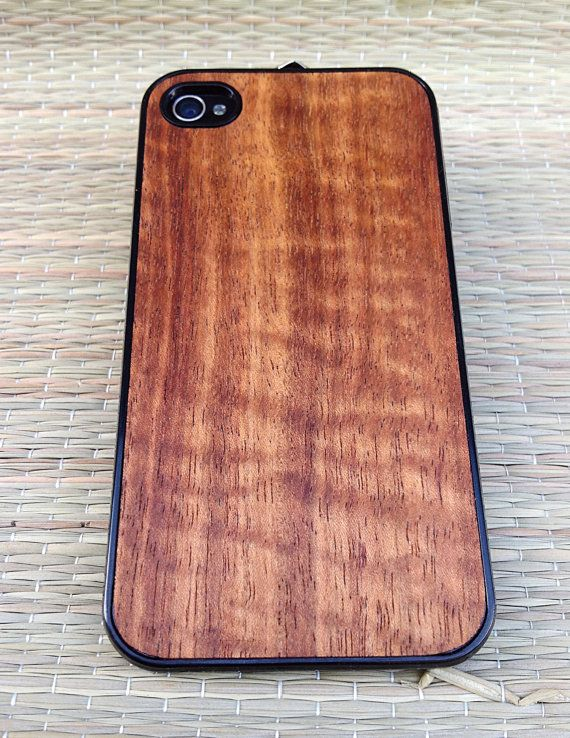 best loved 939d1 7b498 iPhone Case HAWAIIAN KOA Wood iPhone Case for iPhone 5 / 5s - (Dark ...