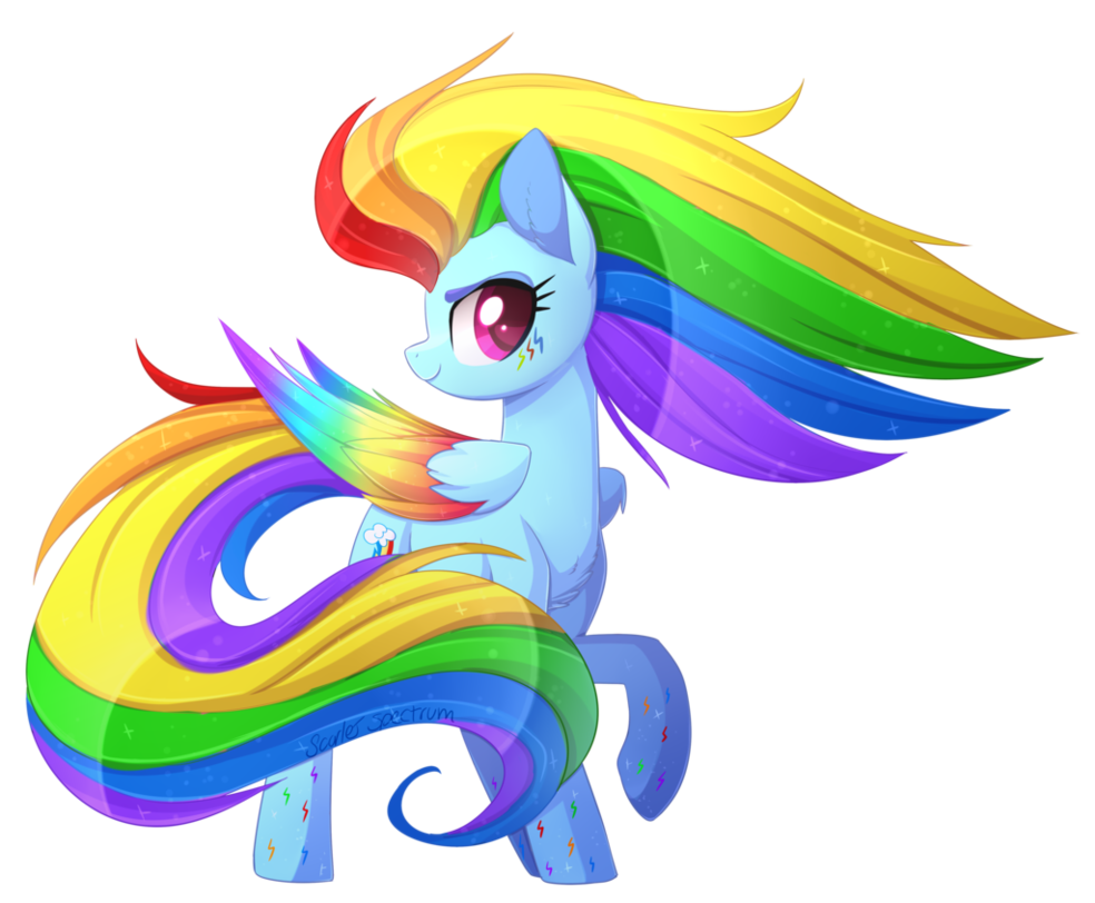 Rainbow Power Dash By Scarlet Spectrum Deviantart Com On
