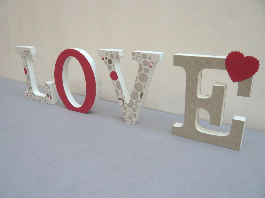 Diy Letras Decorativas Cómo Hacer Letras En 3d Tutorial Diy Kids Crafts