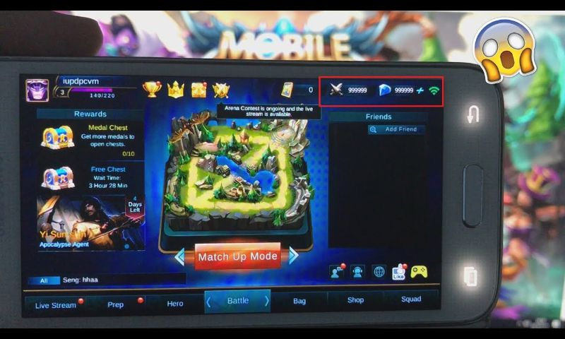 Pin by Foto Thmey on My Saves Mobile legends, Tool hacks
