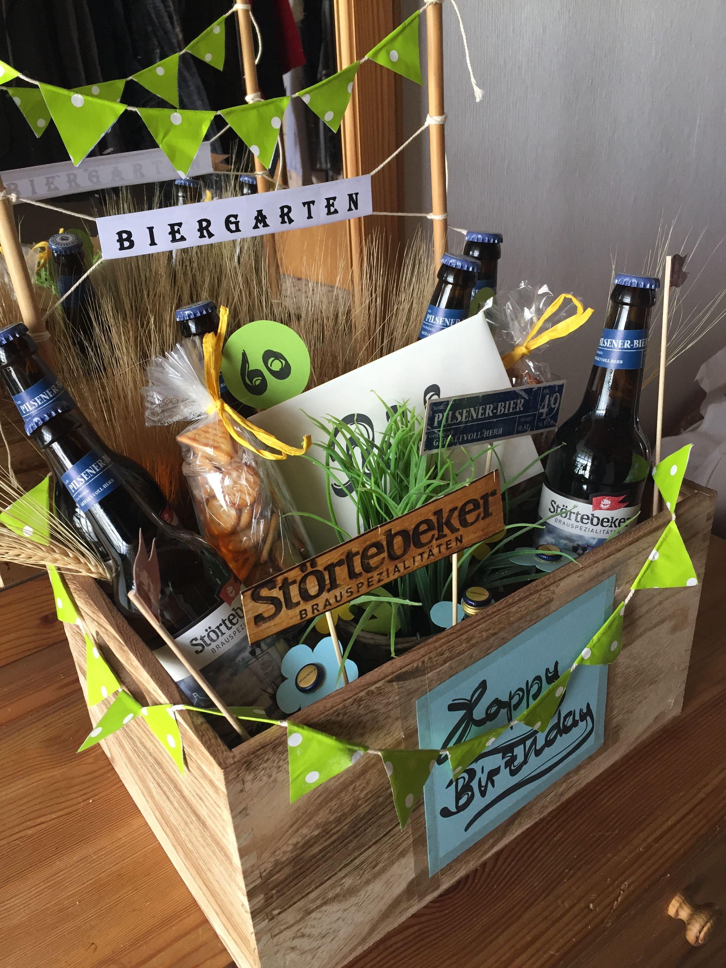 Biergarten Geschenk Zum 60 Geburtstag Geburtstag Geschenke