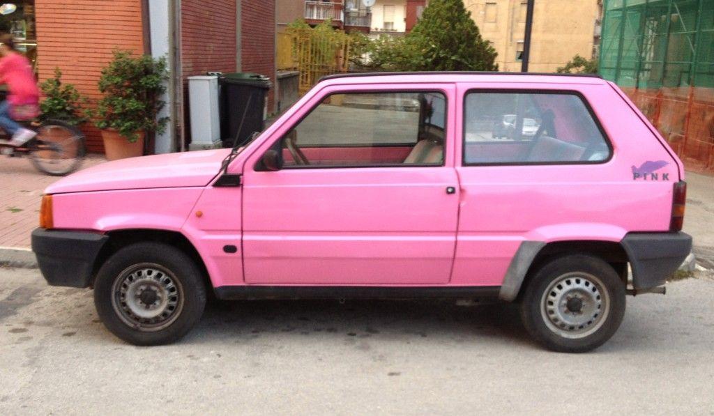 Fiat Panda Pink